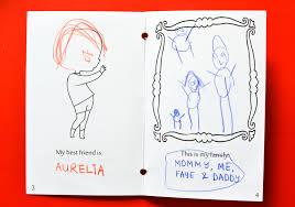 and for kids who like to colour there is plenty of room on the pages to do just that the book