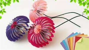 How To Make Origami Paper Flower Origami Paper Flowers Docrafts Com