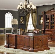 antique mahogany large home office unit. Mahogany Executive Desk Amazon Com Hooker Leesburg In Office Furniture: Antique Large Home Unit