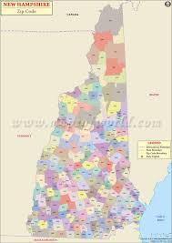 new hampshire zip code map new hampshire postal code