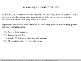 Marketing Assistant Resume SlideShare