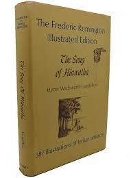 rare book cellar rare out of print books the song of hiawatha the frederic remington illustrated edition henry wadsworth longfellow