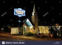 usa graceland wedding chapel the strip las vegas boulevard las vegas nevada wedding marrying night chapel sign