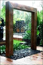 outdoor wall fountains outdoor wall waterfall contemporary wall fountains modern outdoor wall fountain large contemporary outdoor