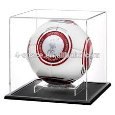 Football Display Stand Plastic Acrylic Football Display Case Plastic Football Display Stand Box 9