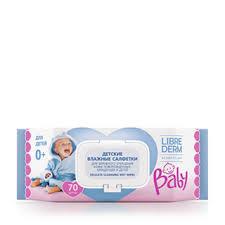 <b>Baby детские влажные салфетки</b> для очищения кожи ...