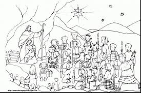 Free Nativity Coloring Pages For Kids Refrence Baby Jesus Coloring