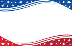 american template american flag postcard template stock illustration illustration of