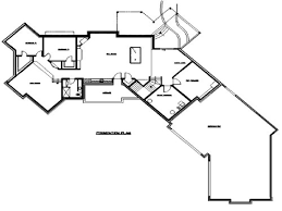 adorable ranch house plans with angled garage ranch house floor plans with angled garage 2500 sq ft bungalow 3 bedroom