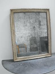mercury glass mirror. Mercury Mirror Foxed Antique Diy Faux Glass