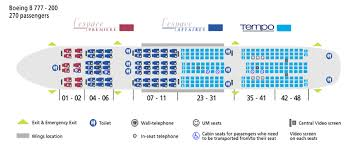 777 Aircraft Seating Capacity The Best And Latest Aircraft