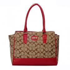 Coach Legacy Candace In Signature Medium Red Satchels ARE