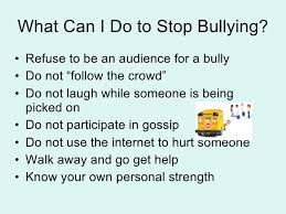 what can be done to stop bullying in schools information resource 10 ways to help reduce bullying in schools