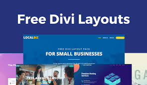 Layouts Blue 25 Best Free Divi Layouts Download Today Divi Cake