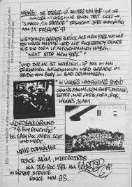 Von Der Szene An Die Szene Mzee Records Newsletter In Papierform