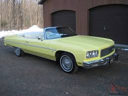 Chevrolet Caprice Classic Convertible 400 motor MATCHING NUMBERS