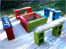 cinder block furniture. Cinder Block Furniture Backyard New Table Large Size Of