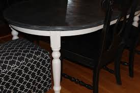 Painted Kitchen Table Chalk Paint Kitchen Table
