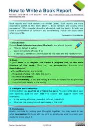 how to write a book report how to write a book report pdf flipbook