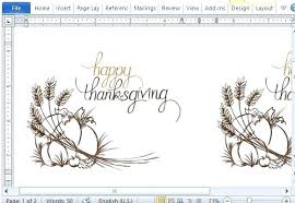 Thanksgiving Card Template Free