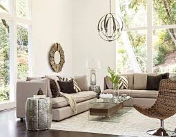 typically living room chandeliers are smaller than the more grand foyer chandeliers an exception may be if a living room has a vaulted or cathedral