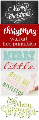 Christmas Wall Art Christmas Freebies Free Printable Christmas Wall Art