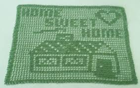 Home Sweet Home Filet Crochet - Timeless Fiber Designs