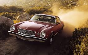 Image Chevrolet Camaro Sport Coupe, 1974 Red automobile