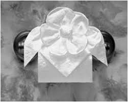Toilet Paper Origami Flower Instructions Toilet Paper Origami Instructions