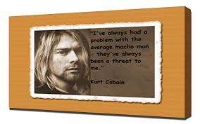 Amazoncom Kurt Cobain Quotes 7 Canvas Art Print Posters Prints