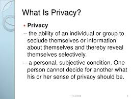 internet privacy  4 what is privacy
