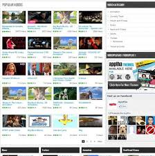 website template video joomla video plus video plus theme video gallery template