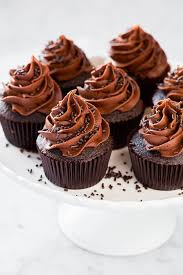 chocolate cupcakes with chocolate icing. Contemporary Chocolate Chocolate Cupcake Recipe With Buttercream Frosting Inside Chocolate Cupcakes With Icing