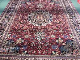 persian rug after cleaning by master cleaner and iicrc instructor doug heiferman proprietor