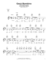 Gesu Bambino (The Infant Jesus) - Pietro Yon (Noten)
