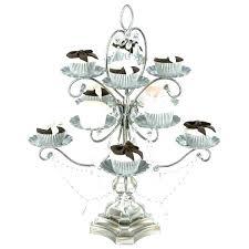 cupcake chandelier black cupcake chandelier stand