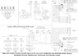 harley davidson wiring diagrams and schematics 1998 flht controls