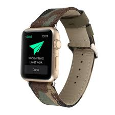 new denim band for apple watch leather band for iwatch 38mm 42mm genuine leather strap classic design with adapter accessories band watches watch