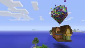 Up House Balloons Minecraft Xbox Disneys Up Balloon House Showcase Youtube