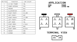 wiring diagram for stock am fm cassette for a 1986 the 1947 attached images