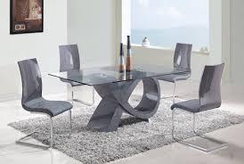 Modern Dining Room Table Sets White Vinyl Flooring Round Wooden - Round modern dining room sets