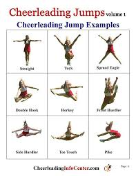 Printable Cheer Jumps Chart Wiring Schematic Diagram 17