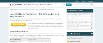 neonatal nurse practitioner job information and neonatal nurse job duties