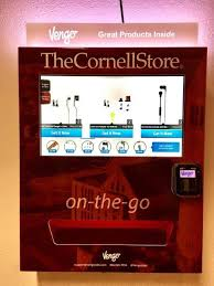 Vengo Vending Machine New Vengo Labs Launches HighTech Vending Machines At Cornell
