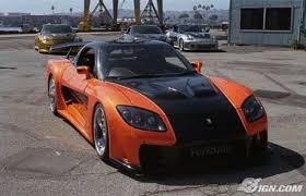 mazda rx7 fast and furious body kit. a fast dan furious film tidak akan lengkap jika memiliki mobil berwarna terang terbungkus dalam body kit mewah sembilan dari sepuluh mobilmobil mazda rx7 and
