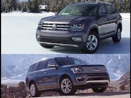 2018 ford atlas. interesting ford battle suv cars  2018 vw atlas vs ford expedition in ford atlas