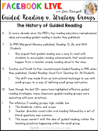 there are many definitions for guided reading and strategy groups out there these are my best explanations for both teaching strategies