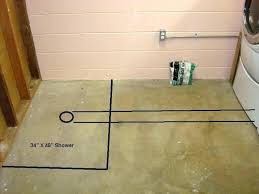 installing bathroom basement cost to install in shower plumbing home improvement for bat