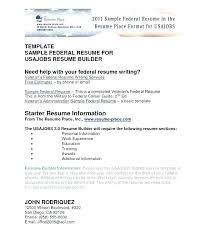 Free Federal Resume Builder Federal Resume Builder Job Co This Is