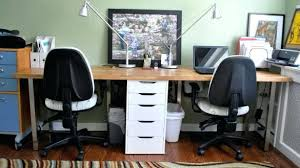 two person desk home office. Two Person Computer Desk Home Office 2 Andyozier Intended For Prepare O